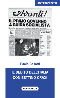Il debito dell'Italia con Bettino Craxi